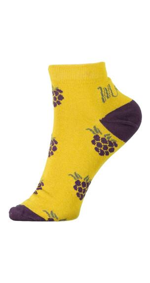 Maloja AugentrostM. Socks Women yellow/purple